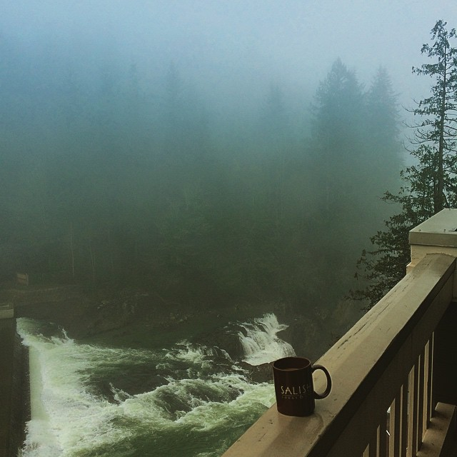 Morning at Salish Lodge & Spa
