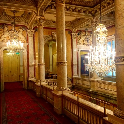 The Premier Etage at Hotel Imperial Vienna. Photo: Author.