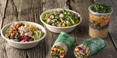 Freshii bowls, wraps, salads, and soup.