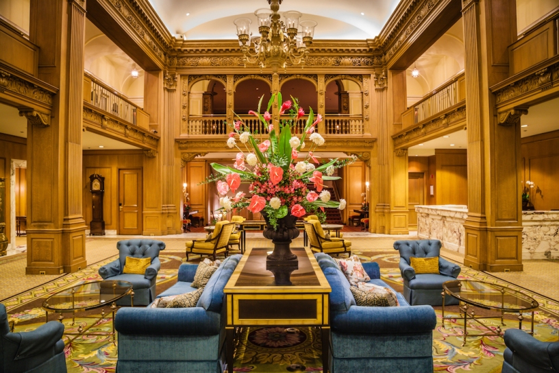 Photo courtesy The Fairmont Olympic Seattle