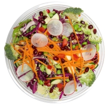The Raw Rainbow Salad from Snap Kitchen. Photo Courtesy of Snap Kitchen.